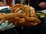 Onion Rings and Crab, Wintzell's Oyster House,Mobile, AL